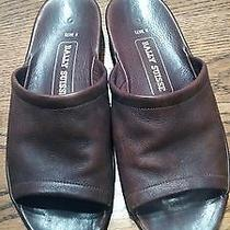 Men's Bally Brown Leather Sandals - Size 8 D - European Style. Photo