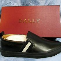 Men's Bally Herald Lamb Nappa Leather Skate Sneaker Size 11 D New in Box 450 Photo