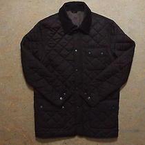 Men's Barbour Matt Barnes Quilt Jacket Size L Genuine Mint Casual Photo