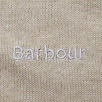 Men's Barbour v-Neck Jumper Size L Photo