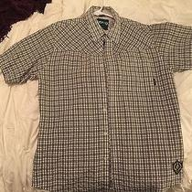 Men's Billabong Collared Shirt M Short Sleeve and Slim Fit Fitted Photo