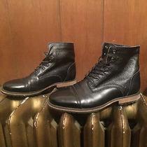 Men's Black Boots Marc New York Andrew Marc Size 8.5 Photo