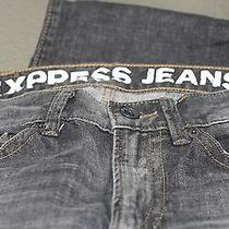 Men's Black Denim Express Jeans Photo