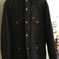 Men's Black Element Winter Jacket Size M Photo
