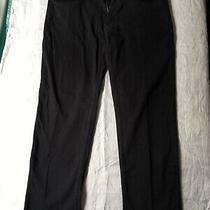 Mens Black Jeans Prm Dnm by George W 40 L 32 Photo
