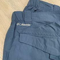 Mens Blue Columbia Omni-Shield Pants Size 38/32 Photo
