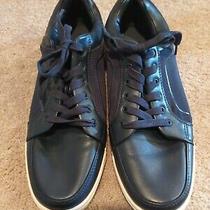 Men's Blue Leather Casual Sneaker/shoe by Aldo - Size 11 Photo