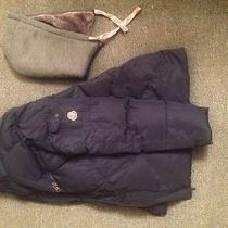 Men's Blue Moncler Winter Jacket  Photo