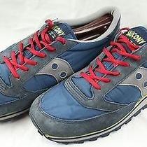 Men's Blue Saucony Jazz Running Athletic Sports Shoes Size 11.5 Photo