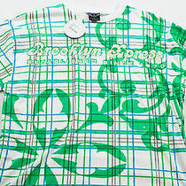 Men's Brooklyn Express Top Size L White Graphic Print Short Sleeve Cotton Photo
