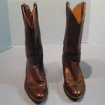Men's Brown Frye  Western Cowboy Boots Size 11.5 D Photo