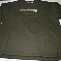 Men's Brown Stylish Crew Neck Sweatshirt Aeropostale 87 Ultimate Performance Xl Photo