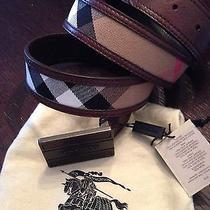 Men's Burberry Belt Photo
