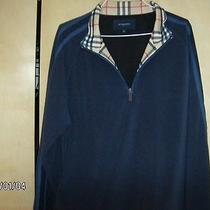 Men's Burberry Fleece Sweatshirt Photo