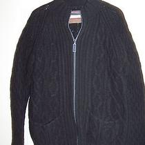 Men's Burton Cable Sweater Jacket Photo