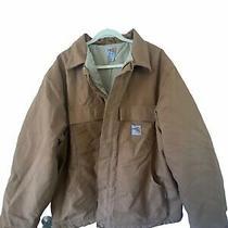Mens Carhartt Jacket Size 2xl Photo