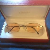 Men's Cartier Glasses With Tinted Lenses Photo