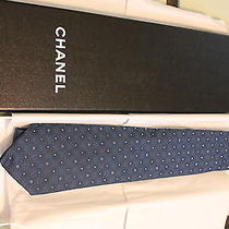 Men's Chanel Blue Cravat Photo