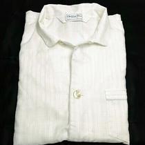 Men's  Christian Dior Monsieur  Button Pajamas Top  Size Ex-Large Photo
