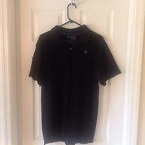 Men's Classic Polo Old Navy Black Gently Worn Size L Photo
