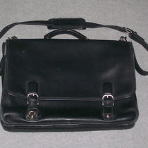 Men's Coach Crosby Leather Flap Business Brief Free Shipping Sells for 598 Photo