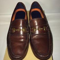 Men's Cole Haan Hudson Bit Mahogany Loafer Shoes sz9.5m  Photo
