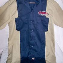 Men's Collectible Dickies Brand Motorcycle Shirt 2006 Laughlin River Run Photo