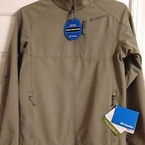 Men's Columbia Ascender Ii Softshell Jacket Coat Size S Small Tusk Nwt 115 Photo