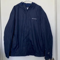 Mens Columbia Omni-Tech  Waterproof Jacket Size Xxl Photo