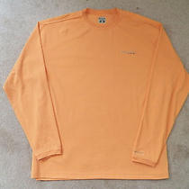 Men's Columbia - Performance Fishing Gear Shirt - Orange - L - Large Photo