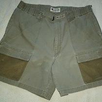 Men's Columbia Pfg Fishing Shorts Size Medium  Photo