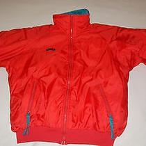 Men's Columbia Radial Sleeve Reversible Puffer Jacket - Red/teal - Large Photo