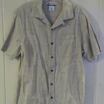 Men's Columbia River Lodge Short Sleeve Button Up Shirt Size Medium Photo