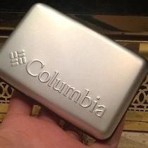 Men's Columbia Security Water Resistant Wallet - Silver  Photo