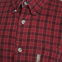 Men's Columbia Sportswear Red Flannel Size Large Carhartt Flannel Outdoor  Photo