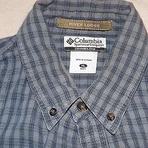 Men's Columbia Sportswear River Lodge Longesleeve Plaid Shirt Size Xl Photo