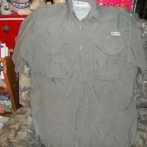 Men's Columbia Vented Fishing Shirt Size Xl Photo