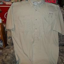 Men's Columbia Vented Fishing Shirt Size Xxl Photo