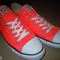 Men's Converse Chuck Taylor Low Top (Size.11) Neon Orange Photo