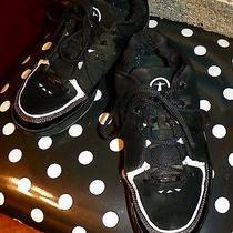 Men's Converse Dwayne Wade Miami Heat Black Leather Athletic Shoes Sz 7.5 Photo