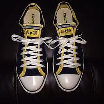 Men's Converse Size 12 Two Toned Low Tops Photo