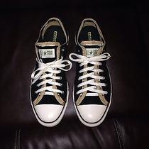 Men's Converse Two Toned Low Tops Size 12 Photo
