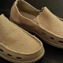 Men's Crocs - Boat / Water Shoes - Size M 11 - Color Camel Photo