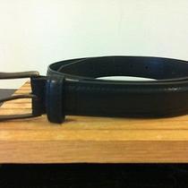 Men's Dickies Black Leather Belt-Sz 38 Photo