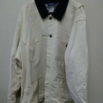 Men's Dickies Blanket Lined Work Hunting Long Coat Jacket  Mens Size Xxl Preownd Photo