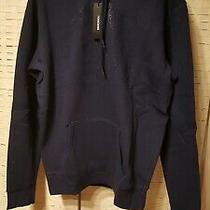 Men's Diesel Blue Pull Over Logo Fleece Hoodie Size Xl New Nwt Retail 128 Photo
