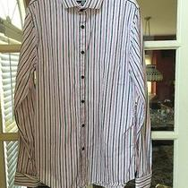 Men's Dress Shirt. Express. Size Small. Fitted Photo