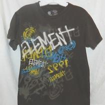 Men's Element Brown Graphic T-Shirt Large Photo