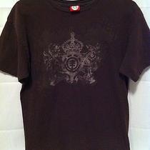 Men's Element Brown Multicolor Graphic T-Shirt (Size Medium) Photo