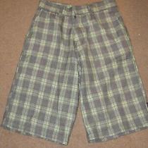 Men's Element Multi-Colored Plaid Shorts (31) Photo